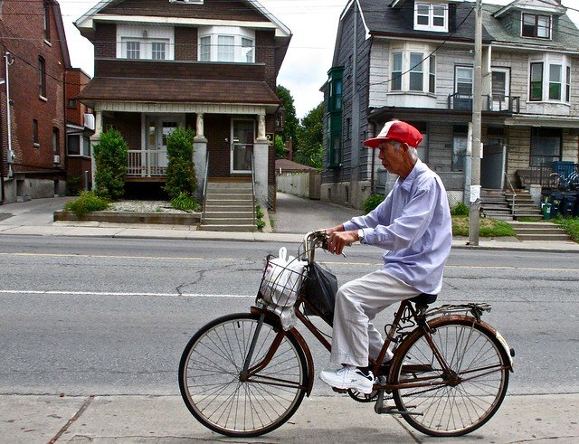 Bike riding for seniors